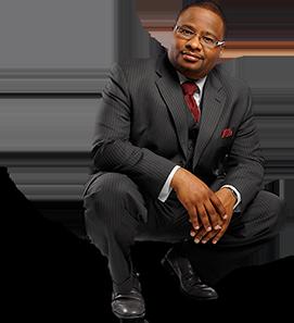 pastor kneeling